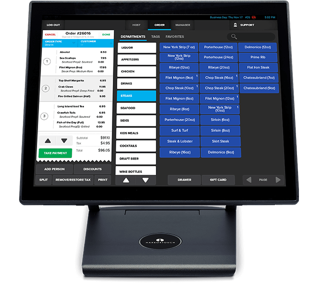Ultimate Pos System Restaurants Bars Amp Retail Businesses